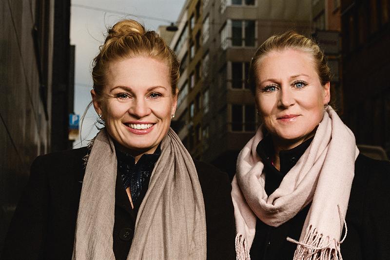 Karin Haraldsson och Katarina Carlsson, Lannebo