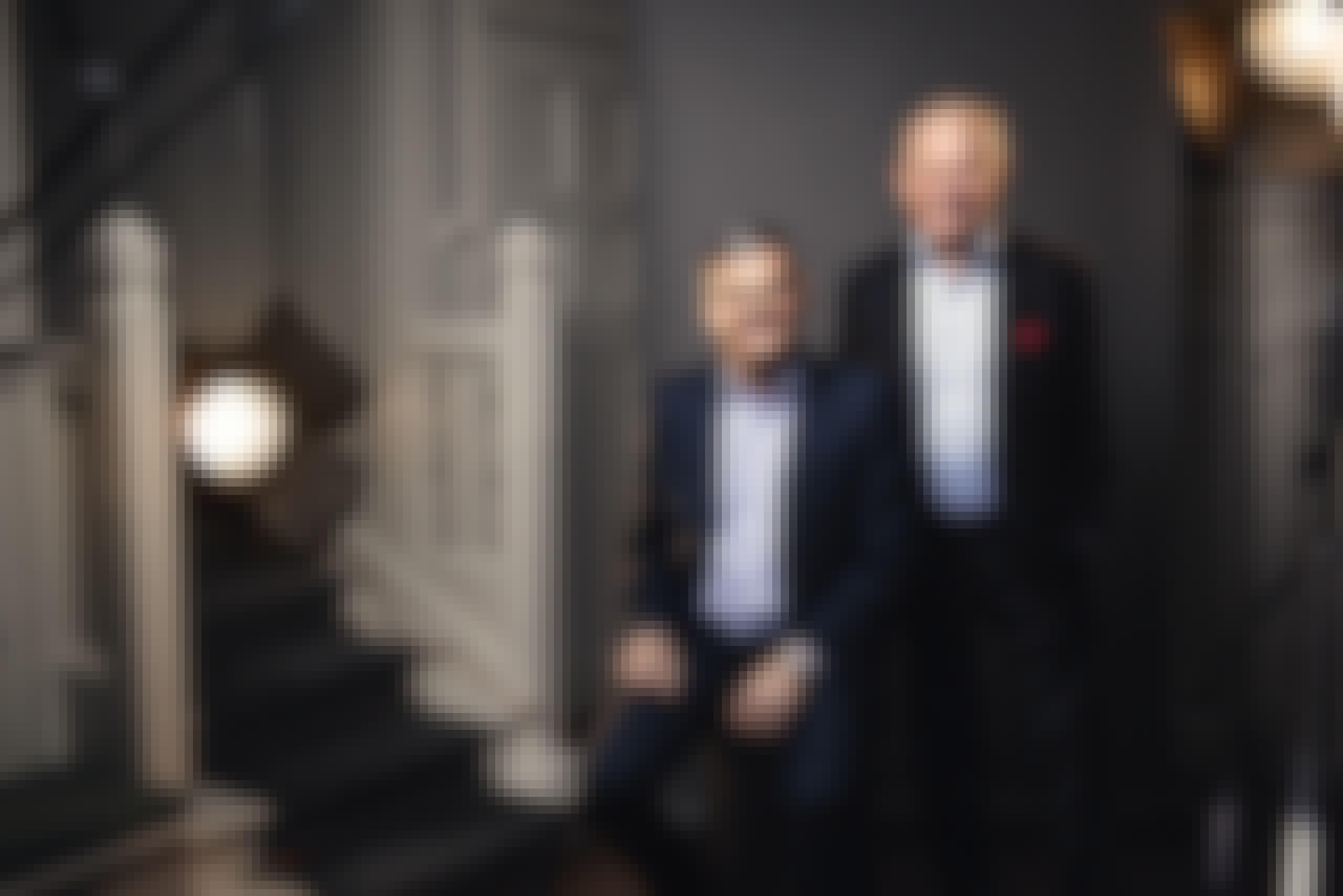 Göran Espelund och Anders Lannebo, founders Lannebo funds